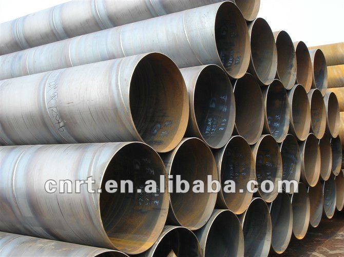 oil&gas spiral welded steel pipe API 5L