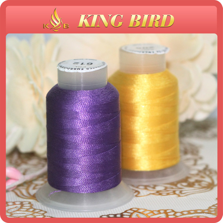 Wholesale Sewing Silk Embroidery Thread Supplies 500m
