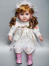 porcelain doll 24 inch 18inch for sale
