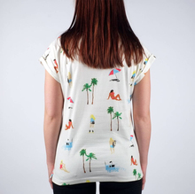 High Quality Round Collar Fashion White Fancy Jersey T Shirt For Girls