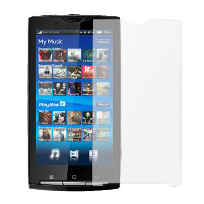 LCD Screen Guard Phone Screen Protector for Sony Ericsson Xperia X10
