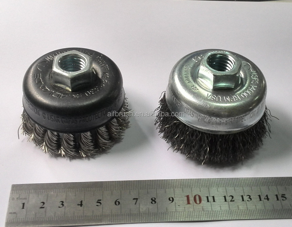 wire cleaning brush with higher quality for upmarket