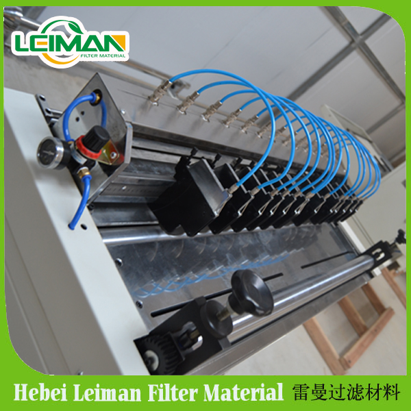 2016 hepa air filter making machine China Good Quality Industrial Pleated Filter Cartridge for Air Filtration