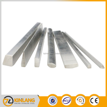 building materials 316l 8k finish stainless steel square rod /bar