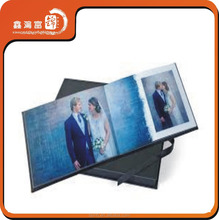 LED light color changing A4 size wedding photo album