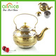 Gold Plated stainless steel whistle kettle / tea kettle / colored kettles
