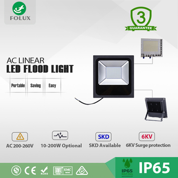 Wholesale CE RoHS IP65 approved45W AC Linear led flood light