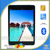 3G Phone Calling Mini Smart Pad MTK 6589 with 7.85 Inch
