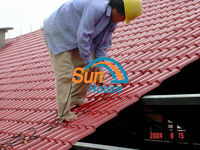 20 years warranty anti corrosion plastic tile roofing prices