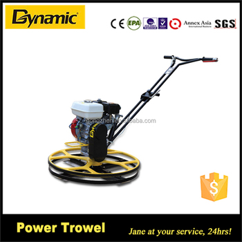 small power trowel QJM-760 for edger and corner