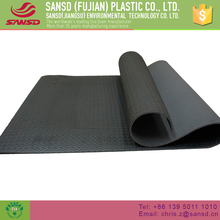 China manufacturer washable 15mm exercise floor yoga mat non-slip