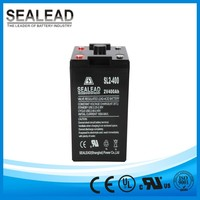 backup battery 2V 400AH lead acid accumulator sealed low selft-discharge batteries for solar and UPS system