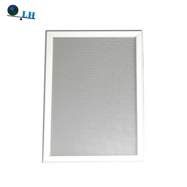 LH5-4 Silver Rectangular Extrusion Aluminum Material Snap Poster <strong>Frame</strong> B2
