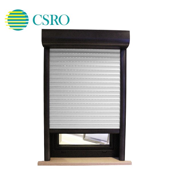 Electric aluminum roller shutter for sunshading and insulation