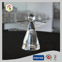 small glass angel for home decoration,home ornament