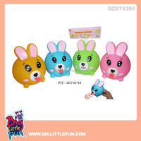 Rabbit baby squeeze toys with tongue