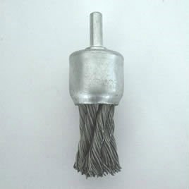 Twist Knot Steel Wire End Brushes