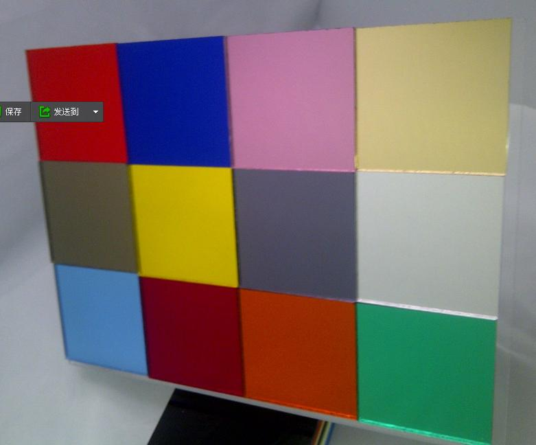 wholesale different color PMMA acrylic sign board