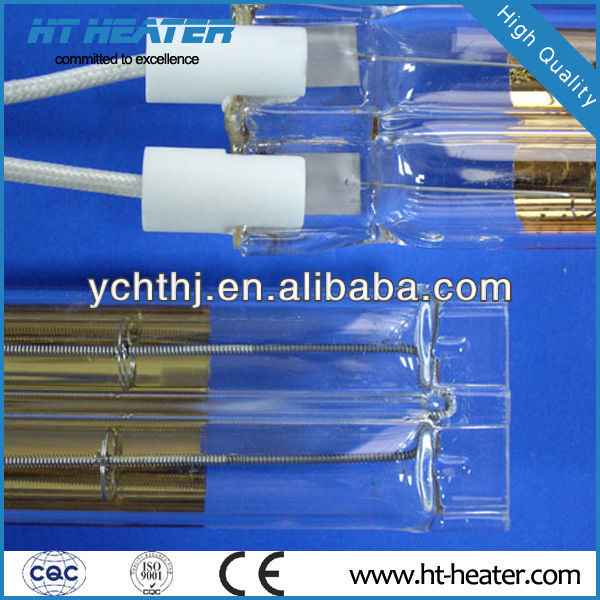 ROHS sauna room radiant heating element infrared quartz heater tube
