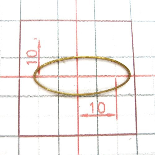 Closed Oval Jump Rings For Jewelry Design