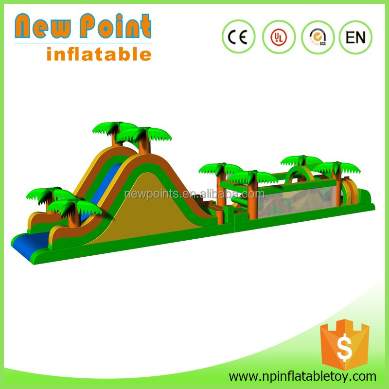 China high quality pool cheap inflatable obstacle course