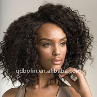 12inch 1B African American Full Lace Wig