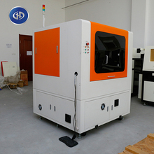 LAC-100 Cheap Ccd Camera laser cutting machine for nonmetal Labels Badges For Contour Cutting