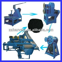 Used tyre / rubber recycle machine
