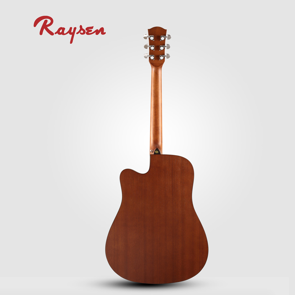 Spruce Sapele Acoustic Guitar Deviser Cheap Price Best Guitar For Students