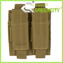 Military Double Pistol Magazine Molle Pouch