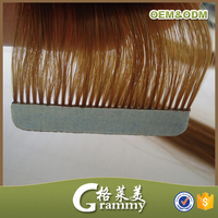top quality european skin/pu weft tape hair weaving