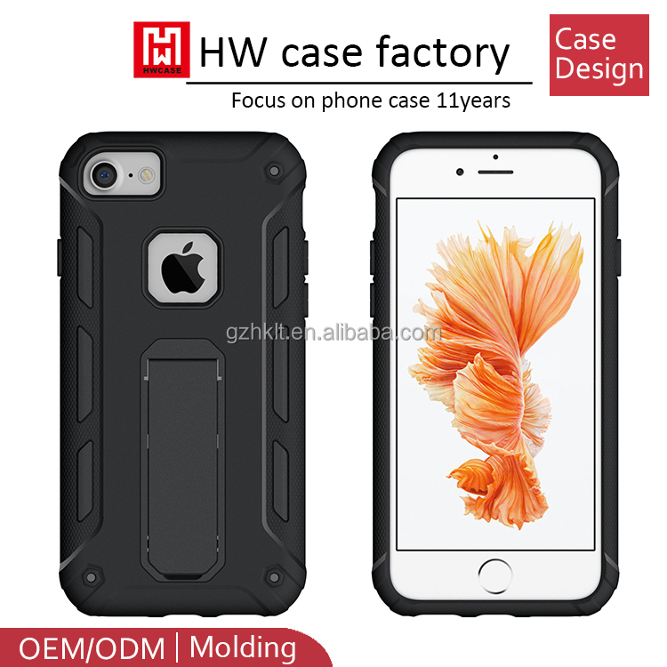 Real factory shockproof hybrid armor mobile phone case for iphone 8 case, ihone 7 case