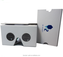 March Promotional 10% off , High Quality Best VR Smart Phone Apps VR 2.0 Google Cardboard 3D Glasses for watch TV or Video