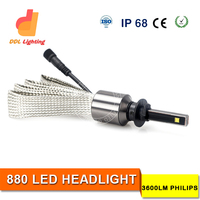Made in China led headlight bulbs h4 Led Head Light H4 Led For Car,Auto,Motorcycle H4 with custom logo