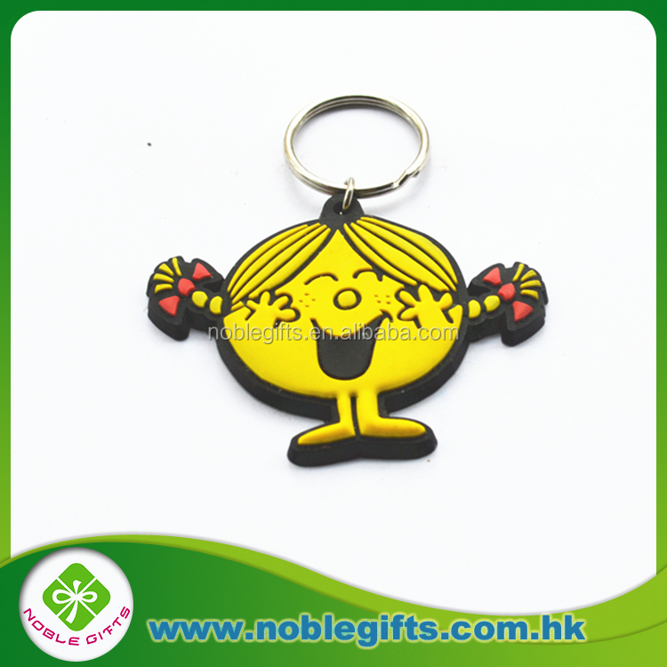 Custom rubber keychain/ pvc key ring /silicone key holder