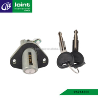 Car Castle trunk lid luggage carrier lock with key set for Daewoo Lanos 96214300