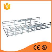 Good price cargo storage zinc plated wire mesh cable tray