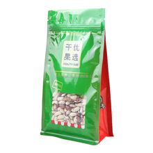 China plastic stand up dry fruit packaging bag with zipper