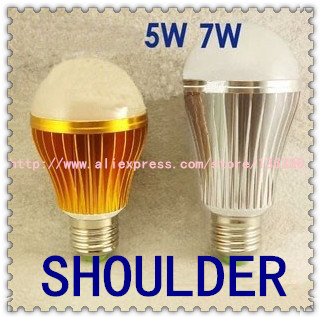 Upgrade! The lastest generation 5W 7W LED bulb,DImmable Bubble Ball bulb higher quality lowerprice E27 2 year warranty