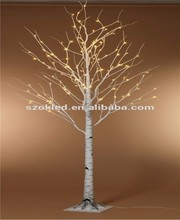 Hot Sale! White LED Birch tree light