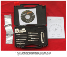 1-130 ten-standard tinfoil tools FOR LOCKSMITH EQUIPMENT GOSO LOCKSMITH CIVIL USED TOOLS
