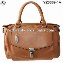 Brown bags stock no brand real leather handbags