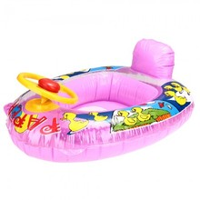 Inflatable Pool Water Swimming Kids Toddler Seat Float