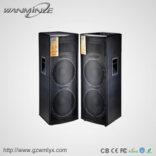 High End 300W Dual Active 15 Inch Super Subwoofer Speakers With USB