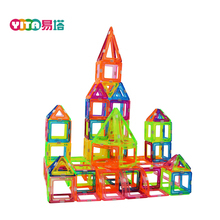 156-PCS Magnet Construction Toy Plastic Toddler Toys Crystal Magnetic Building Blocks