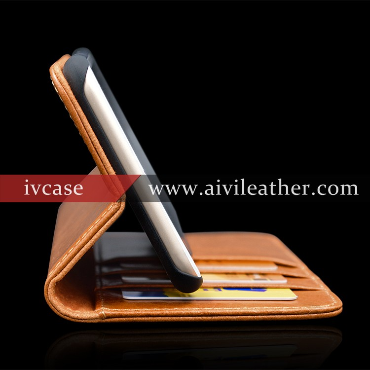 Classy Mobile Phone Cases for Leather Wallet Iphone 7 Case