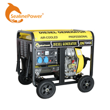 Electric Power Portable Open Type Diesel Generator Diesel Engine For Charging Batteries/ Providing Electricity