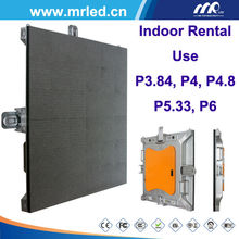 3.84mm Pixel Pitch Full Color P3.84 indoor rental use led display screen