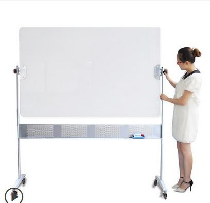 Double side magetic tempered glass whiteboard