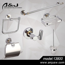 Brass Bathroom Accessories Set Wall Mounted Bathroom Set Hotel Room Set